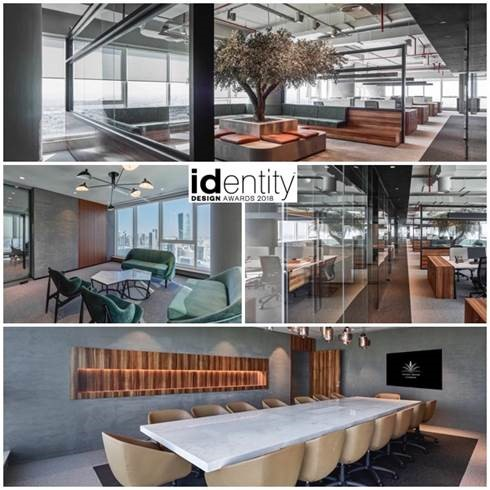 Emirates National Investment's Award-winning Offices Designed by Swiss Bureau, Applauded during ID Design Awards 2018